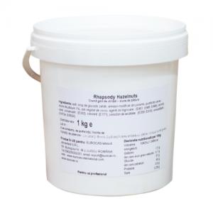 Rhapsody Hazelnut 1kg – crema alune de padure