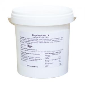 Rhapsody Vanilla 1kg - crema vanilie